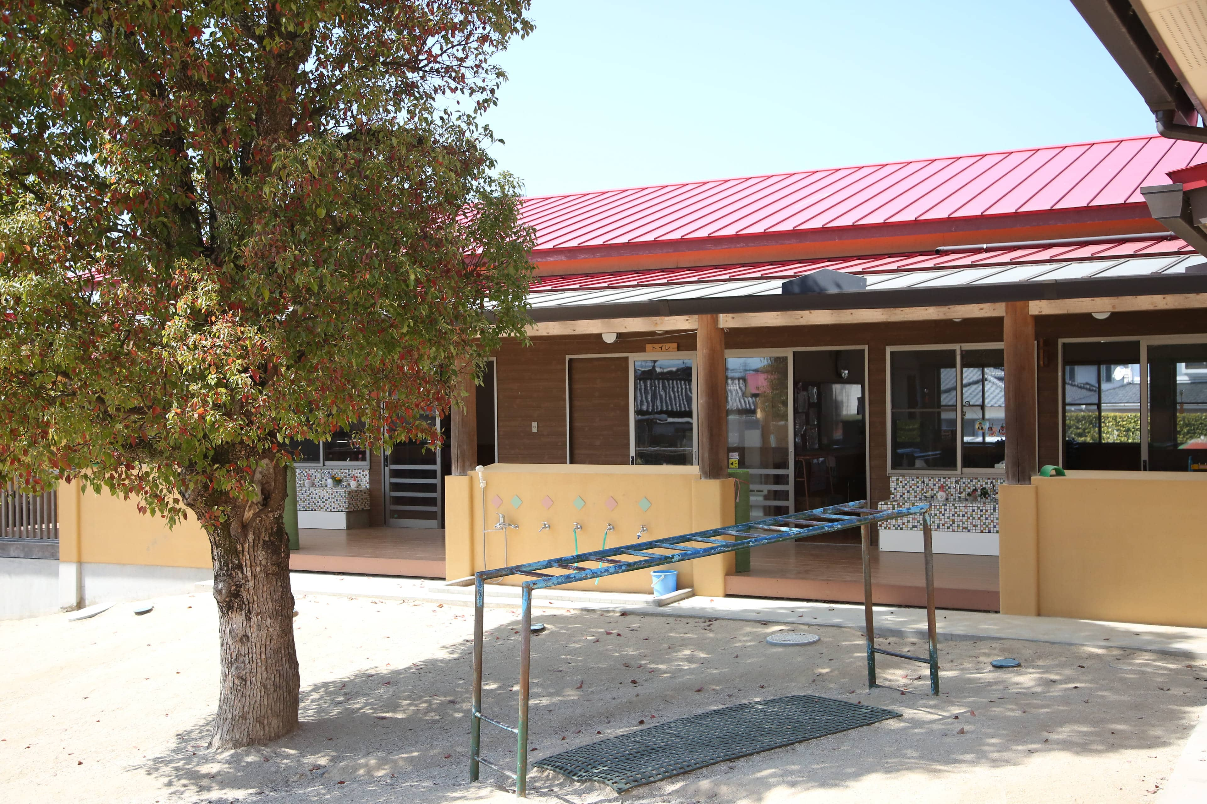 愛宕幼稚園の校舎の様子