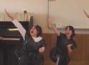 忍者になって踊ってみよう!!