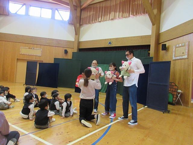 人形劇2日目の公演でした🤡
